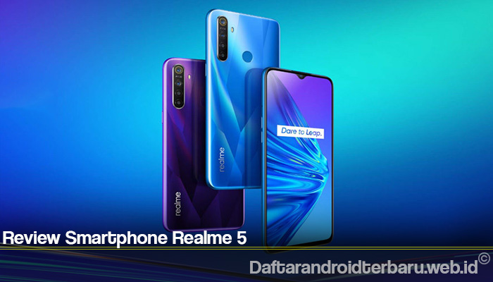 Review Smartphone Realme 5